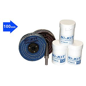 ABRASIVE KIT 100 MM