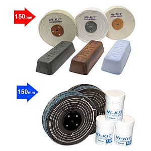 ABRASIF AND POLISHING KIT Ø150 MM (8150-KA+8150-KP)