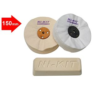 POLISHING KIT FOR POLYESTER 150 MM