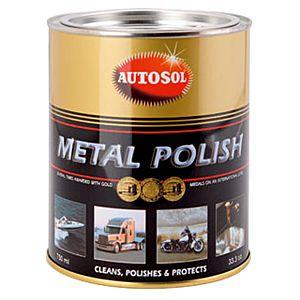 AUTOSOL PATE A POLIR POUR METAUX 750 ML