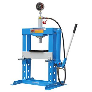 SHOP PRESS TABLETOP WITH MANOMETER 10 TON  HEAVY FRAME