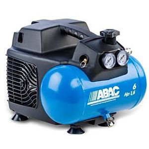 ABAC START 015 COMPRESSOR 1,5 HP WITH 6 LITER TANK