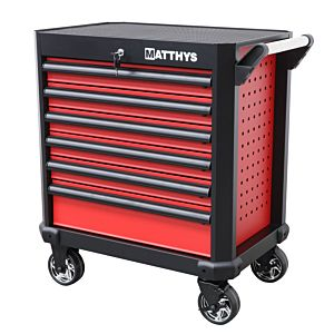 TOOL CHEST WITH 6 DRAWERS GRAIN POWDER COATING FINISH