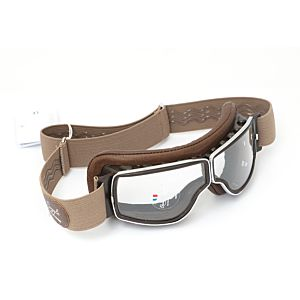 LUNETTE T2 MARRON VIEILLI CHROME OC. INCOLORE