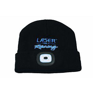Laser Tools Racing-muts met oplaadbare lamp (6899)