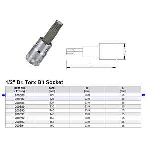 1/2 TORX BITDOP T20
