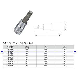 1/2 TORX BITDOP T25