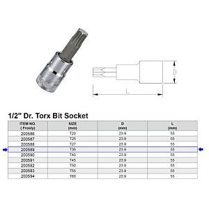 1/2 TORX BITDOP T30