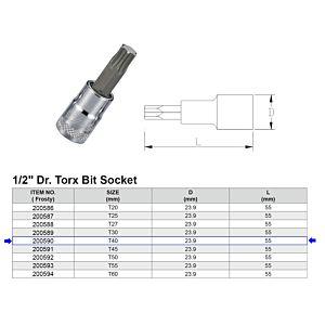 1/2 TORX BITDOP T40
