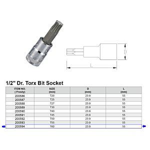 1/2 TORX BITDOP T60