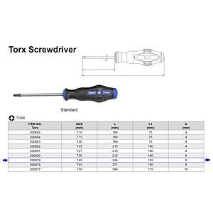 TX SCHROEVENDRAAIER T40 X 125 MM